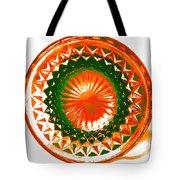 Circle Orange Tote Bag