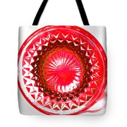 Circle Red Tote Bag