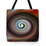 Circled Carma Tote Bag