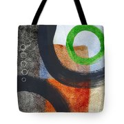 Circles 2 Tote Bag by Linda Woods