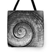 Circles Bw Tote Bag