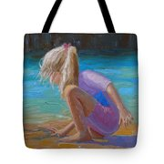 Circles In The Sand Tote Bag