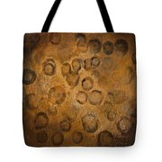 Circles Of Gold Tote Bag