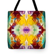 Circling The Unknown Abstract Healing Artwork By Omaste Witkowsk Tote Bag