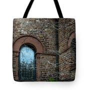 Circular Church Window Tote Bag