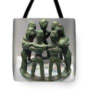 Circular Dancers Tote Bag