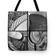 Circular Tote Bag by Luke Moore