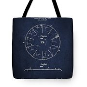 Circular Saw Patent Drawing From 1899 Tote Bag