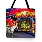 Circus Act Tote Bag