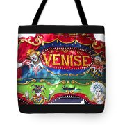 Circus Centerpiece Tote Bag