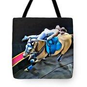Circus Horse Trickster Tote Bag