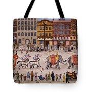 Circus Parade Tote Bag