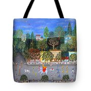 Circus Parade Two Tote Bag