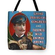 Circus Program, C1901 Tote Bag