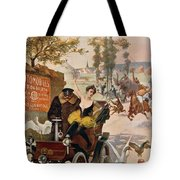 Circus Star Kidnapped Wilhio S Poster For De Dion Bouton Cars Tote Bag