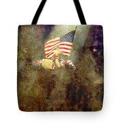 Circus Usa Flag Tote Bag