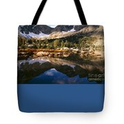 Cirque Of The Towers In Lonesome Lake 2 Tote Bag