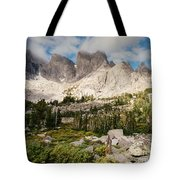 Cirque Of The Towers Tote Bag