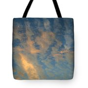 Cirrocumulus Morning Tote Bag
