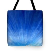 Cirrus Clouds In Perspective Tote Bag