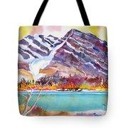 Cirrus Mountain Tote Bag
