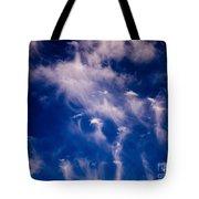 Cirrus Uncinus Clouds 11 Tote Bag
