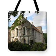 Cistercian Abbey Of Fontenay Tote Bag