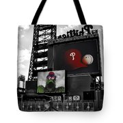 Citizens Bank Park Philadelphia Tote Bag by Bill Cannon