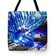 Citric Acid Microcrystals Abstract Color Art Tote Bag