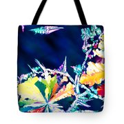 Citric Acid Microcrystals Color Abstract Art Tote Bag
