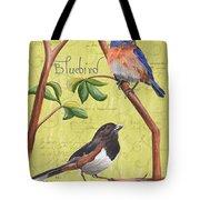 Citron Songbirds 1 Tote Bag by Debbie DeWitt