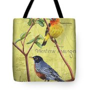 Citron Songbirds 2 Tote Bag