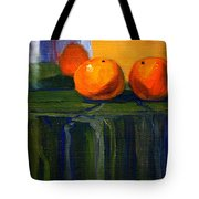 Citrus Chrome Tote Bag