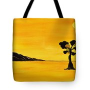 Citrus Sunset Tote Bag