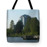 City And Country Meet Tote Bag