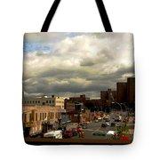 City And Sky Tote Bag