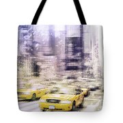 City-art Times Square I Tote Bag