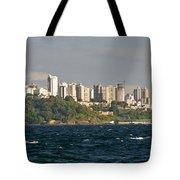 City At The Waterfront, Salvador Tote Bag