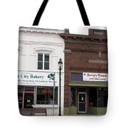 City Bakery In Clare Michigan Tote Bag