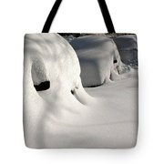 City Blizzard Tote Bag