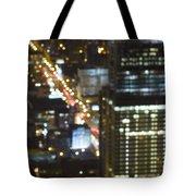 City Blur Tote Bag
