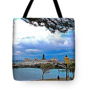 City By The Bay In San Francisco-california  Tote Bag