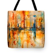 City By The Sea IIi Tote Bag