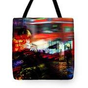 London City Cafe Culture Tote Bag