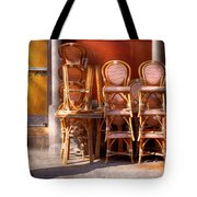 City - Chairs - Red Tote Bag