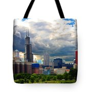 City Color Crazy Tote Bag