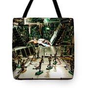 City Cyber Attack  Tote Bag