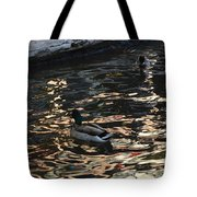 City Ducks 2  Tote Bag