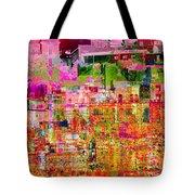 City Dusk Cityscape Tote Bag