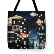 City Fish Edit 2 Tote Bag